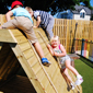 Outdoor Play at Huddersfield's primary day care nursery